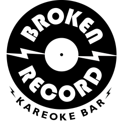 Broken Record Kareoke Bar logo