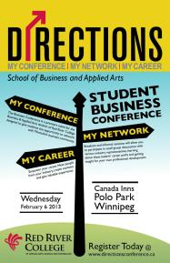 Directions Business Conference poster