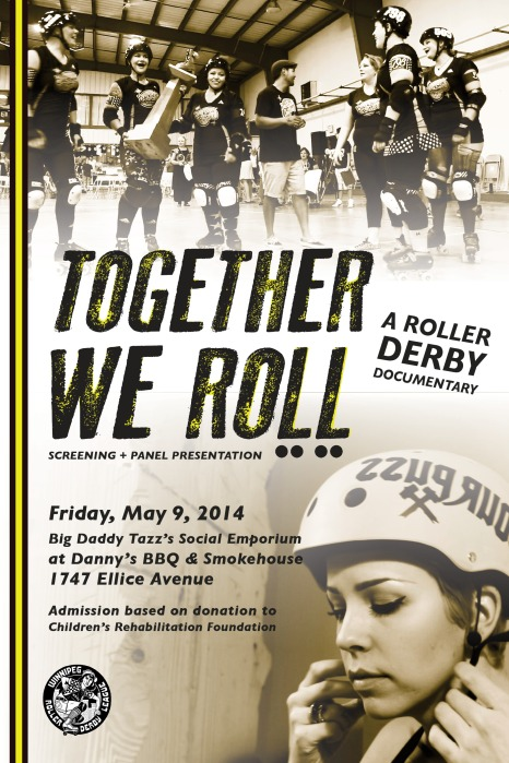 Together We Roll screening event poster